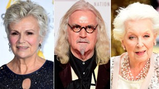Billy Connolly, Julie Walters and June Whitfield among famous faces in Queen's Birthday Honours list