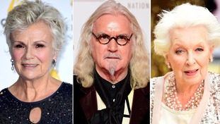 Julie Walters, Billy Connolly and June Whitfield were recognised in the Queen's Birthday Honours list.