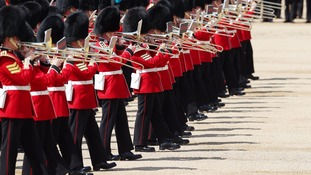 The Trooping the Colour ceremony at Horse Guards Parade