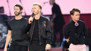 Increased security checks will be in place at the Etihad stadium for tomorrow's Take That concert.