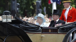 The Queen acknowledged a 'sombre national mood' as she marked her official birthday.