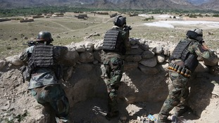 Seven US troops wounded and Afghan soldier killed in attack at Afghan base