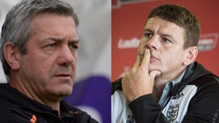 Daryl Powell and Lee Radford