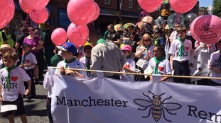 The Manchester Day parade