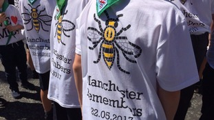 Davyhulme Scouts help Manchester remember
