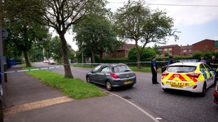 Police were called to Greenbrow Road in the early hours of Saturday.