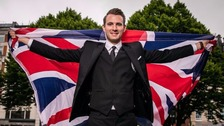 Britain's Got Talent winner Lance Corporal Richard Jones