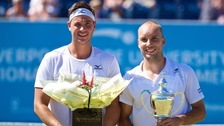 Willis and Darcis at the Liverpool Tennis Tournament