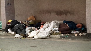 Homeless people sleeping rough on the streets could be helped by a new website and helpline.