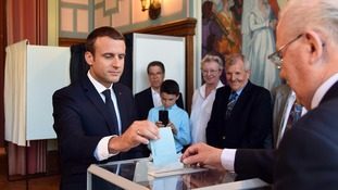 French President Emmanuel Macron's party set for majority in parliamentary elections