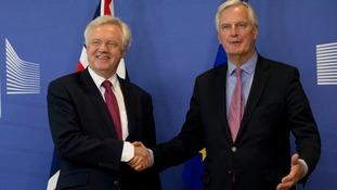 Davis and Barnier