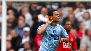 Geovanni scored in a 1-0 win over United.