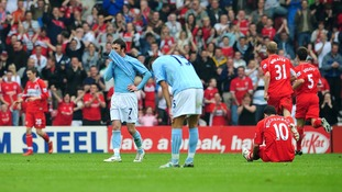 City lost 8-1 at Middlesbrough.
