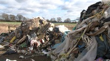 Fly-tipping in rural areas