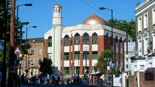 The attack took place near to Finsbury Park Mosque.