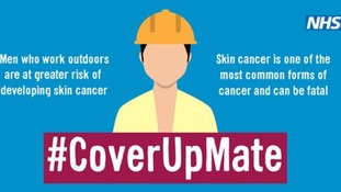 Anti skin cancer campaign