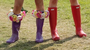 Glasto wellies