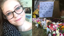 Flowers and messages have been left for Ellen Higginbottom