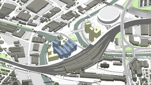 graphic of the plans