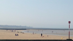 The beach at Margate