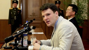 Otto Warmbier had been convicted of subversion in a trial in North Korea