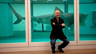 Men charged over Damien Hirst counterfeits