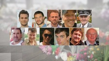 Shoreham air crash victims