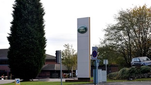 Worker dies in 'industrial accident' at Jaguar Land Rover plant