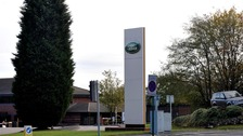 Jaguar Land Rover's Solihull plant