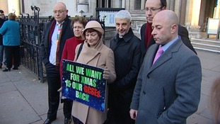 Representatives of the broad educational alliance who have brought the case to court.