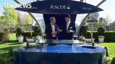 Simon meets George, a favourite at Royal Ascot