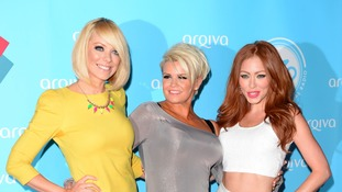 Atomic Kitten - Natasha Hamilton, Kerry Katona and Liz McClarnon.