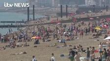 Health warnings as heatwave continues in region