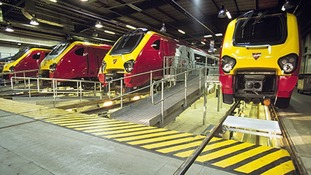 Virgin Trains' Super Voyager will be maintained by Bombardier until March 2016