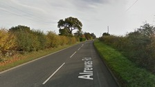 Alrewas road, Staffordshire