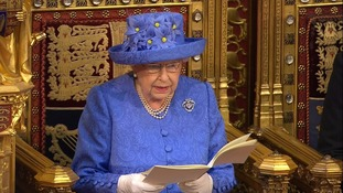 The Queen's Speech normally mentions planned state visits.