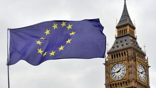 EU flag by Big Ben