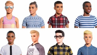 Man bun Ken features in 15 new versions of doll
