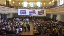 Hundreds of children at Jo Cox 'get together' event