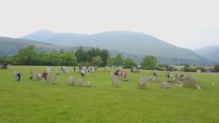Druids celebrate Summer Solstice at stone circle