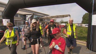 Welsh rocker and wife walk north Wales for cancer research