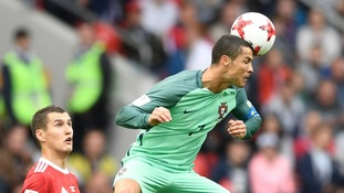 Ronaldo header sees Portugal beat Russia in Confederations Cup