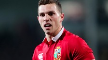 George North will sit out the first Test.