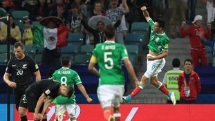 Mexico get the better of New Zealand in exciting Confed Cup game
