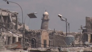 IS militants 'blow up' iconic mosque where caliphate was declared