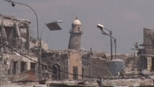 IS blow up iconic mosque where caliphate was declared