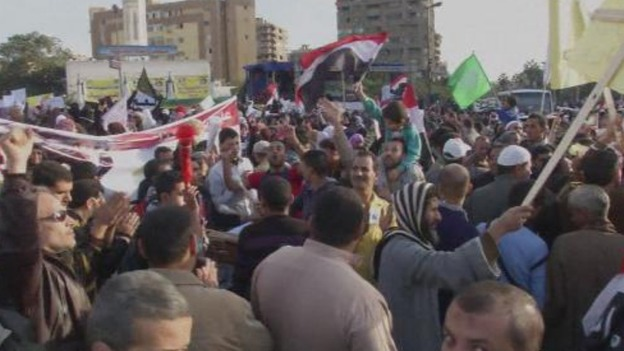 Morsi's Muslim Brotherhood supporters