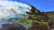 Wildfire warning after hot and dry spell in Cumbria