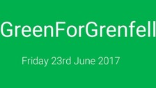 Pupils asked to wear something green #greenforgrenfell
