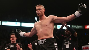 Flintoff has also had a go at boxing